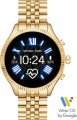 Michael Kors - Access Lexington 2 Smartwatch 44mm Stainless Steel - Gold With Gold Band
