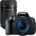 Canon EOS Rebel T5i 18.0MP DSLR Camera with 18-135mm Lens & Extra 55-250mm Lens