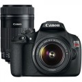 Canon EOS Rebel T5 18.0MP DSLR Camera with 18-55mm Lens & Extra 55-250mm Lens