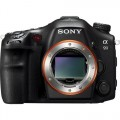Sony - a99 DSLR Camera and Vertical Grip (Body Only) - Black