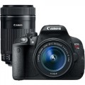 Canon EOS Rebel T5i 18.0MP DSLR Camera with 18-55mm Lens & Extra 55-250mm Lens