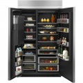 Jenn-Air 29.5 Cu. Ft. Side-by-Side Built-In Refrigerator - Stainless steel